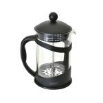 Френч-пресс для кофе/чая 0,8 л, стеклянный в черной подставке