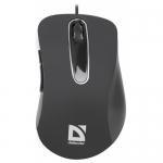 Мышь проводная Defender Datum MM-070, черный