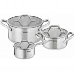 Набор посуды Tefal E825S374 Hero(кастрюля 20см\3 л, кастрюля 24см\5.4 л, ковш 16см\1.6 л)