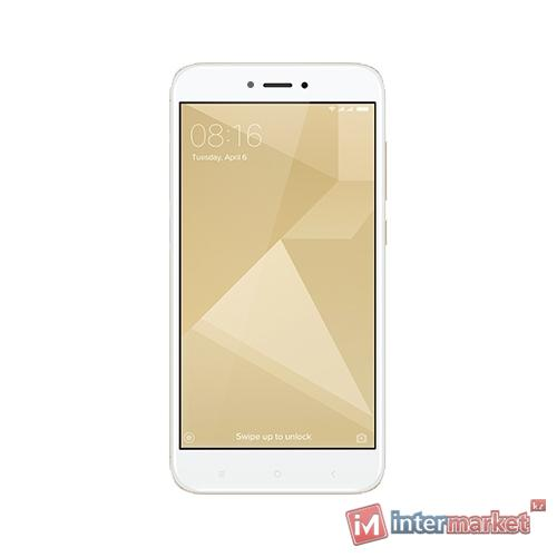 Смартфон Xiaomi Redmi 4X 16GB, Gold